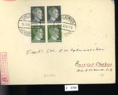 Deutsches Reich, Brief Aus Gebrauchspost Mit Zusammendruck: S 272 - Se-Tenant
