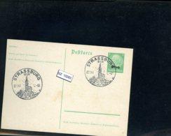 Deutsches Reich, Elsaß P1 Mit SST Strassburg - Occupation 1938-45