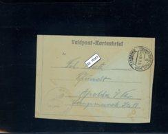 Deutsches Reich, Feldpost Kartenbrief 19.6.43 - Occupation 1938-45