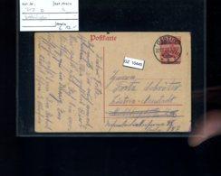 DR, Danzig P7 Bedarfsgebraucht - Besetzungen 1914-18