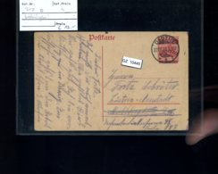 DR, Danzig P7 Bedarfsgebraucht - Ocupación 1914 – 18