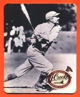 Sous Bock - Coaster C J Crocker Scotch Whisky Spirit - Baseball - Portavasos