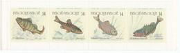 Belgique 1990 - Poissons D'eau Douce, Carnet, MNH**, Non Plie - Belgium