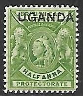 Uganda   1902   Sc#77   1/2anna  MNH   2016 Scott Value $3.25++ - Protectorados De África Oriental Y Uganda