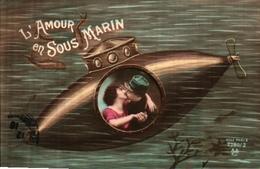 ACA 2280-2 L'amour En Sous Marin - Guerra 1914-18