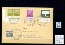 BRD, O, 177 Wx, Im Eckrandpaar L. U.,  U.a. MeF Mit SST - Cartas