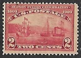 US  1909   Sc#372  Ships  MLH   2016 Scott Value $10 - Ungebraucht
