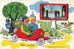 Lannemezan : Carte Humoristique - Lannemezan