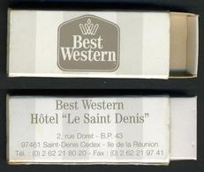 """Mini-boite - Hôtel """"Best Western"""" Saint-Denis (Ile De La Réunion) - Boites D'allumettes"""