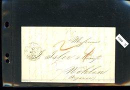 Schweiz Vorphilatelie, Brief Nach Wohlen (Aargau), Aus St. Gallen, 1845 - Suiza