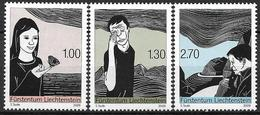 2009 Liechtenstein  Mi.  1509-11**MNH   Linolschnitte Von Stephan Sude - Liechtenstein