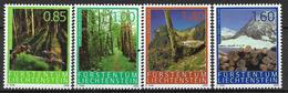 2009 Liechtenstein  Mi.  1518-21**MNH    Der Wald Und Seine Leistungen - Ongebruikt
