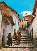 2 AK Peru * Typical Street In Cuzco * - Peru
