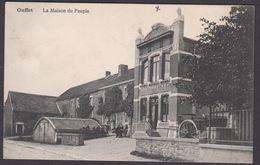 CPA -  Belgique,  OUFFET, La Maison Du Peuple - Ouffet