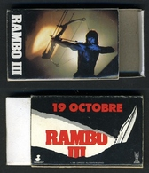 "Promo Film ""Rambo III"" (FRANCE) - Matchboxes"