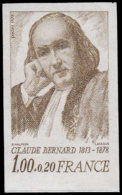 FRANCE   ** 1990 A, Essai En Brun: Claude Bernard - Essais