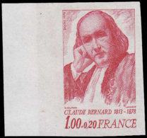 FRANCE   ** 1990 A, Essai En Rouge, Bdf: Claude Bernard - Essais