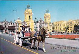 1 AK Peru * Plaza Mayor - Hauptplatz In Lima Mit Der Kathedrale - Seit 1991 UNESCO Weltkulturerbe * - Peru