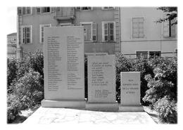 BELLEY - Mémorial Aux Enfants D'Izieu - Belley