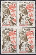 FRANCE N** 1861 Bloc De 4 MNH - Neufs