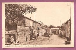 Cp Daillecourt La Mairie Et Le Monument - Autres Communes