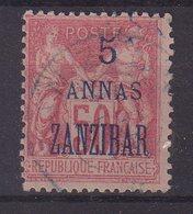 ZANZIBAR : N° 27 . OBL . TB .1896/00 . SIGNE . - Zanzibar (1894-1904)