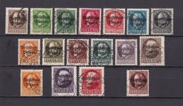 Bayern - 1919/20 - Michel Nr.  116/130 A + 134/135 A - Gest. - 57 Euro - Bavaria