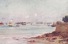 CPA Illustration Carte Pour Peintre Vers 1906 - Bretagne - Eugène Bourgeois - Illustrateurs & Photographes