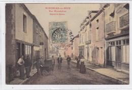 Côte-d'Or - Mirebeau-sur-Bèze - Rue Montdolivet Depuis Le Dessus - Mirebeau