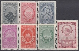 YUGOSLAVIA 560-566,unused - 1945-1992 Socialistische Federale Republiek Joegoslavië