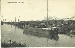Noordschoote -- Le Canal.     ( 2 Scans ) - Lo-Reninge