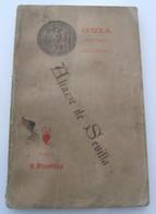 Livret GUIA Alcazar De Sevilla J.Gestoso Y Pérez Plan Du Palais 1899 Vintage - Culture
