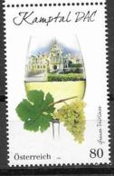AUSTRIA, 2019, MNH,  GRAPES, WINE, WINE REGIONS,1v - Wines & Alcohols