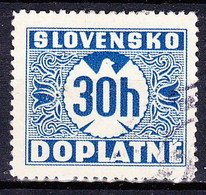 Slovaquie 1939 Mi P 4 (Yv TT 4), Obliteré - Slowakije