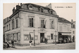 - CPA COLOMBES (92) - La Mairie (belle Animation) - N° 4 - - Colombes