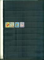 TOGO  TIMBRES-TAXE FRUITS 4 VAL NEUFS A PARTIR DE 0.60 EUROS - Togo (1960-...)