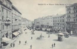 481138Trieste, Piazza Della Borsa E Il Corso. - Trieste