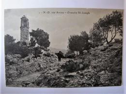 FRANCE - BOUCHES-DU-RHÔNE - MIMET - Notre-Dame Des Anges - Oratoire Saint-Joseph - Sonstige Gemeinden