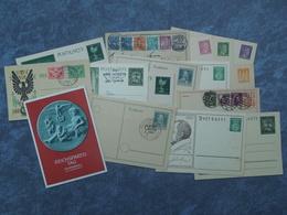 17 Postkarten Vom Deutschem Reich . - Briefe U. Dokumente