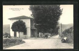 CPA Saint-Isidore, Route Du Var - Non Classificati