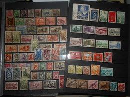 Sarre Lot De 80 Timbres Obliteres - Collections, Lots & Series