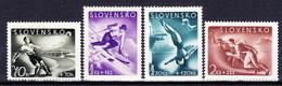 Slovaquie 1944 Mi 147-50 (Yv 108-11), (MNH)** - Slovaquie