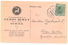 JUDAICA GEORG SIHT OSIJEK YEAR 1930 - Kroatië