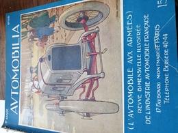 AUTOMOBILIA/ CARROSSERIEAVIONS/REFROIDISSEMENT / BINET/SPIDOLEINE/MICH /CYCLECARS  /FORD MOTOR CITY /HUILES/MOTOCULTURE - Boeken, Tijdschriften, Stripverhalen