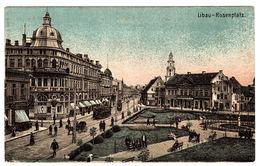 LIBAU - Liepāja - Rosenplatz - FELDPOSTKARTE 1916 - Latvia