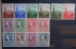 NEDERLAND  1951  Dienstzegels    D 27 - 32  /  D 33 - 40  Gestempeld   CW  18,50 - Dienstpost