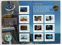 COLLECTOR 2010 « ROUTE DU RHUM » 10 TIMBRES ADHÉSIFS – TBE / NEUFS - Collectors