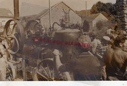 87- LIMOGES- LA BATTEUSE  RARE PHOTO ORIGINALE CLAUDE LACAN  SUR PAPIER ARGENTIQUE - Professions