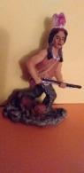 RESINE Neuve..Petite Statue Indienne..Scan O...Voir Les 2 Photos Recto Et Verso - People