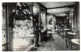 LIBAU - Liepāja - Sommer- Und Wintergarten Des Café BONITZ - 1915 - Letonia
